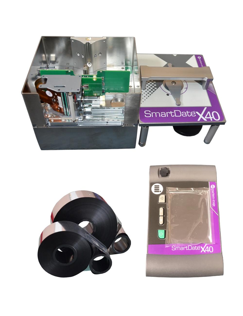 Impresora de transferencia térmica para farmacia e industria alimentaria