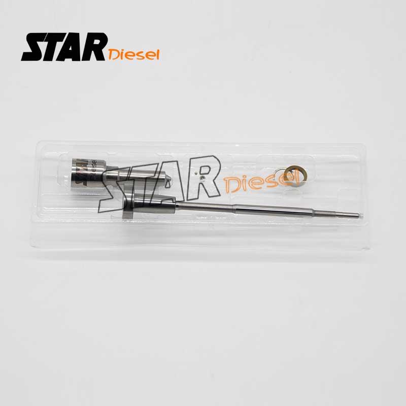 Kit de reconstrucción de inyector boquilla DLLA150P2143 (0433172143) Kit de sello inyector de combustible válvula F00RJ01692 para 0445120191 0445120260 13034027