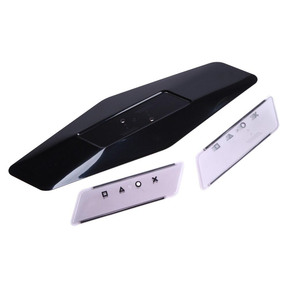 Juego de consola, jugador, soporte Vertical negro, soporte, almohadilla de enfriamiento, Base de muelle, soporte, plástico negro para PS4 Slim