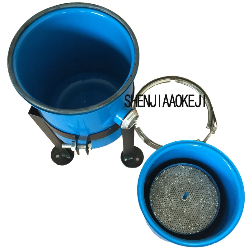 10L Vacuum pump vertical filter vacuum pump gas-water separator vacuum pump gas-liquid separator oil-water filter 1pc