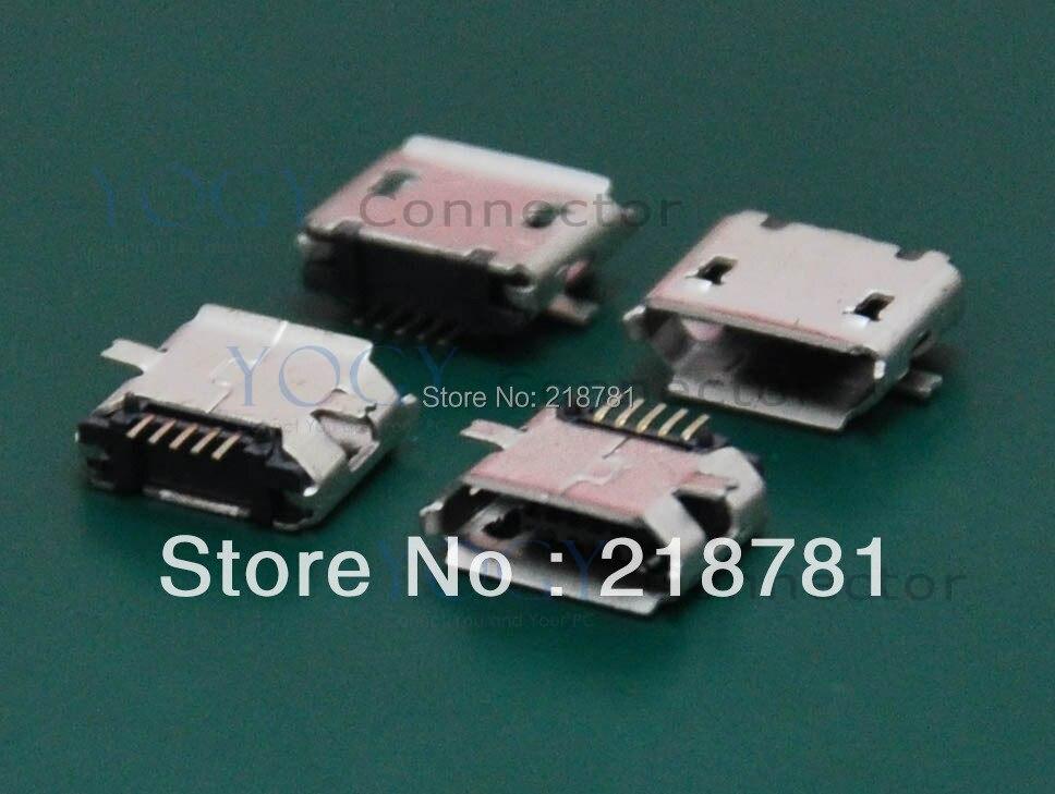 Бесплатная доставка! 5 pin, 10 шт, длинный Pin MINI Micro USB разъем для передачи данных, подходит для Mini Pad, планшета, панели ПК, телефона,