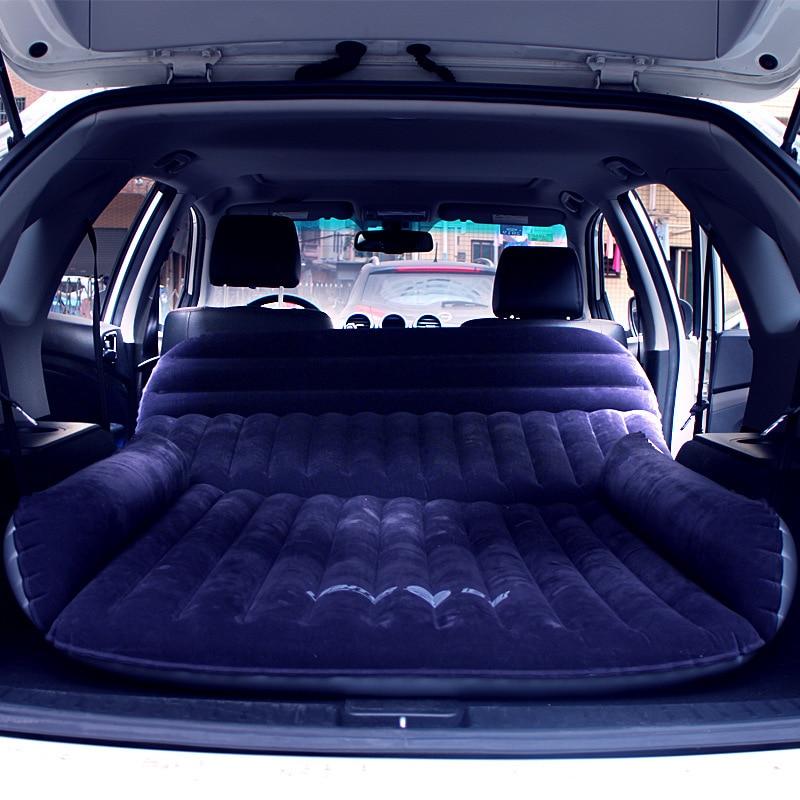 Colchón de torno para niños y adultos, cama hinchable para aire libre, viaje, Camping, Suv, fila trasera de coche, cojín de aire, asiento trasero