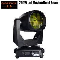 Gigertop 200 w החדש Led הזזת ראש קרן אור Tyanshine Led לבן צבע 8 Facet פריזמה קרן אפקט עם כפור עדשה מהיר TP-L200B