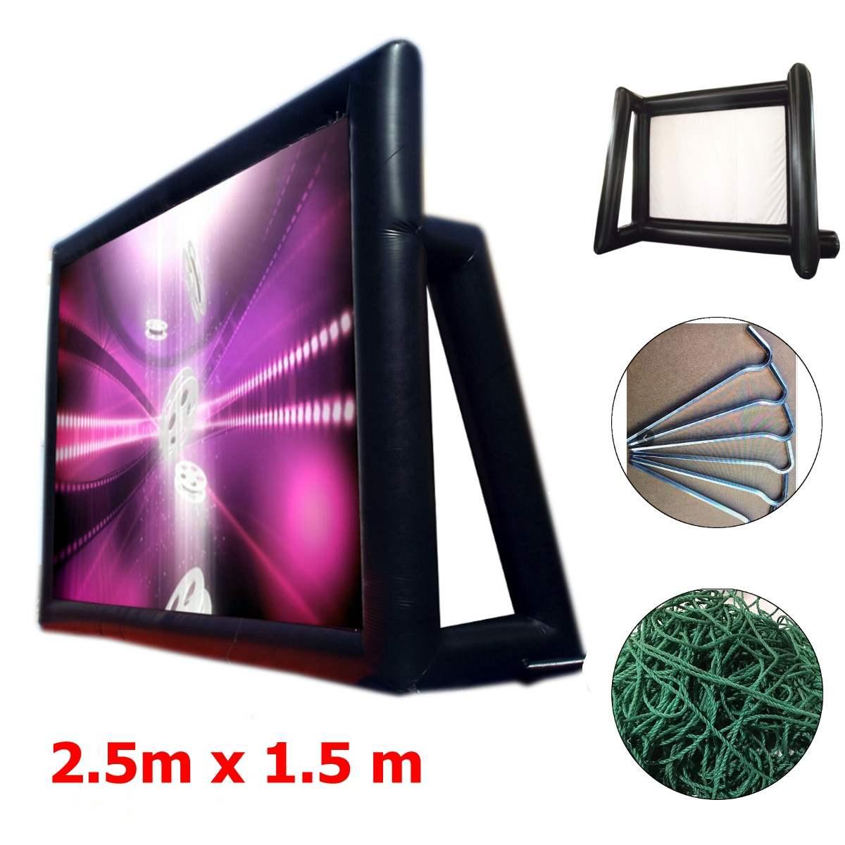 Надувной экран для видеосъемки, 1,33 м х 0,75 м, 169