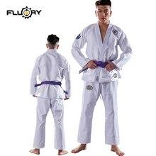 Fluory nuevo diseño bjj gi personalizado y en stock jiu-jitsu brasileño gi parches de etiqueta tejida en judo gis