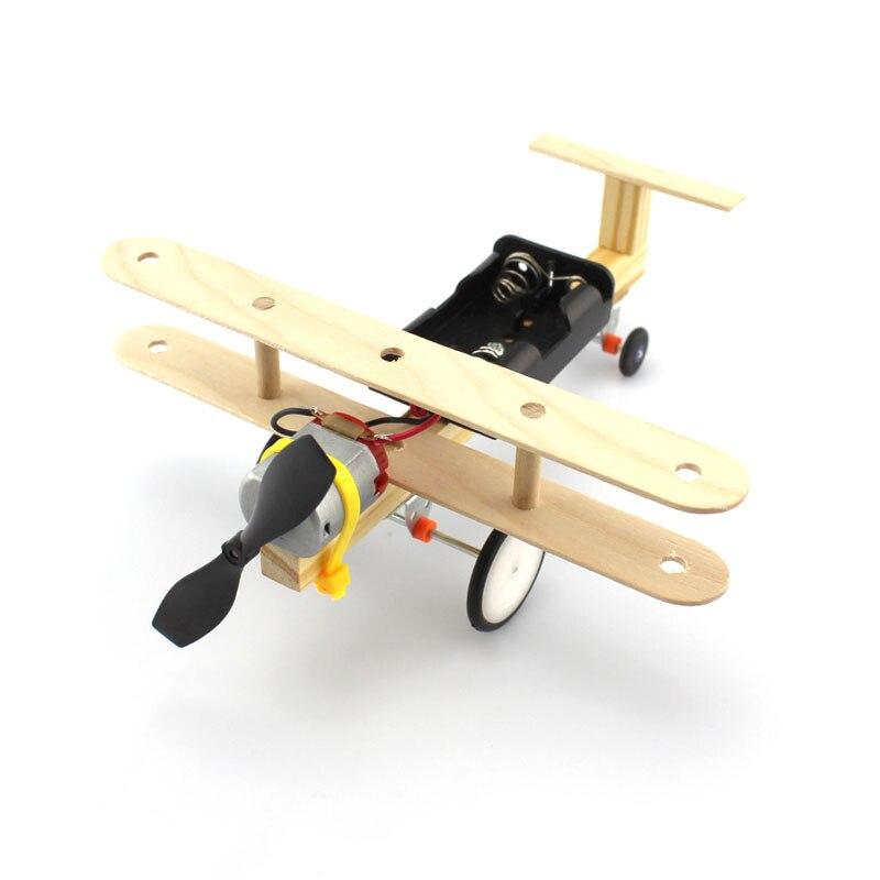 Táxi elétrico avião de taxiing planador vento energia do ar artesanal tecnologia ciência diy pequenas invenções ciência experimentos brinquedo