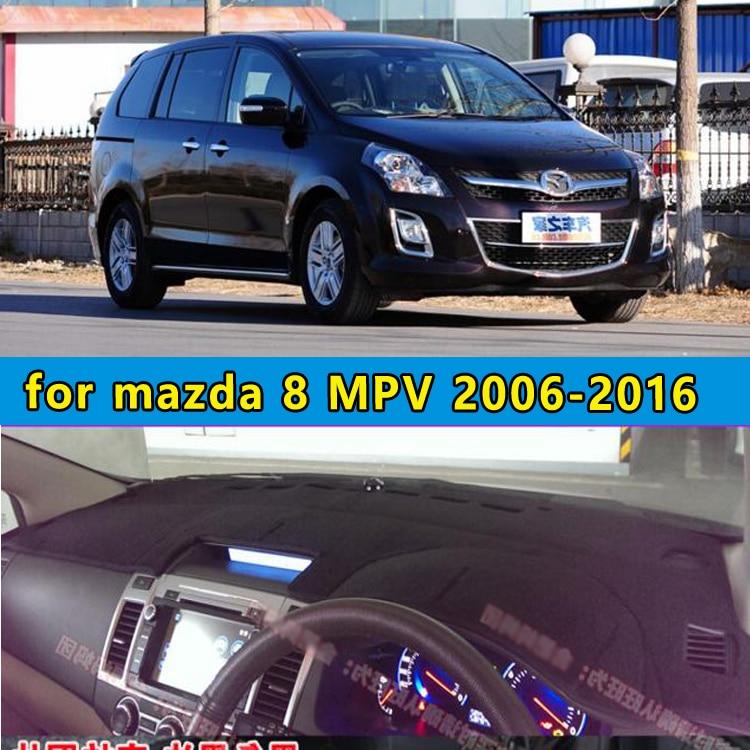 dashmats car-styling accessories dashboard cover for mazda 8 mazda8 mpv 2011 2012 2013 2014 2015 2016 rhd