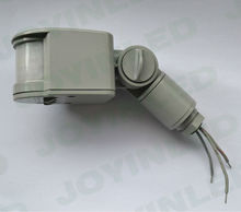 Envío gratis 4 unids/lote LED cuerpo infrarrojo movimiento sensor proyecto-luz proyector monitoreo luz sonda Interruptor de Inducción PIR