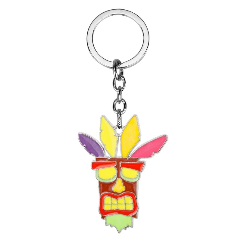Брелок MQCHUN Crash Bandicoot для мужчин и женщин, брелок для косплея собаки, мужской брелок для ключей в стиле аниме, брелок-сувенир-50