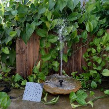 High Quality Monocrystalline Silicon Mini Solar Water Pump Power Panel Kit Fountain Pool Garden Pond Submersible Watering