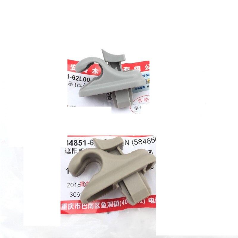 Remplacement 2 pcs Original Acessórios Palas de Sol Clips Prender Para Suzuki Swift Alto DB176 SX4