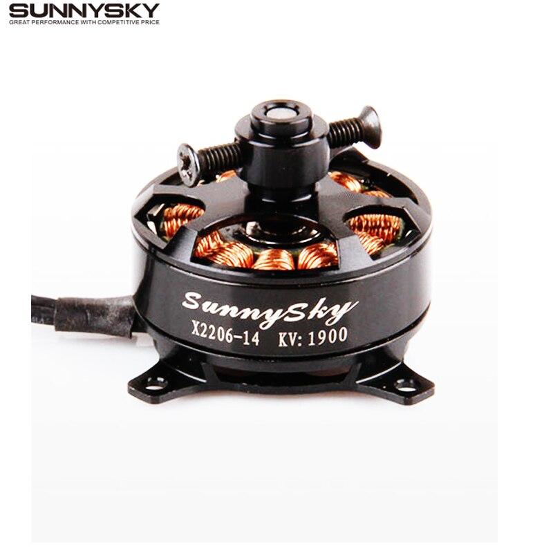 Бесщеточный мотор Sunnysky X2206 1500KV 1900KV 2206 для радиоуправляемого квадрокоптера