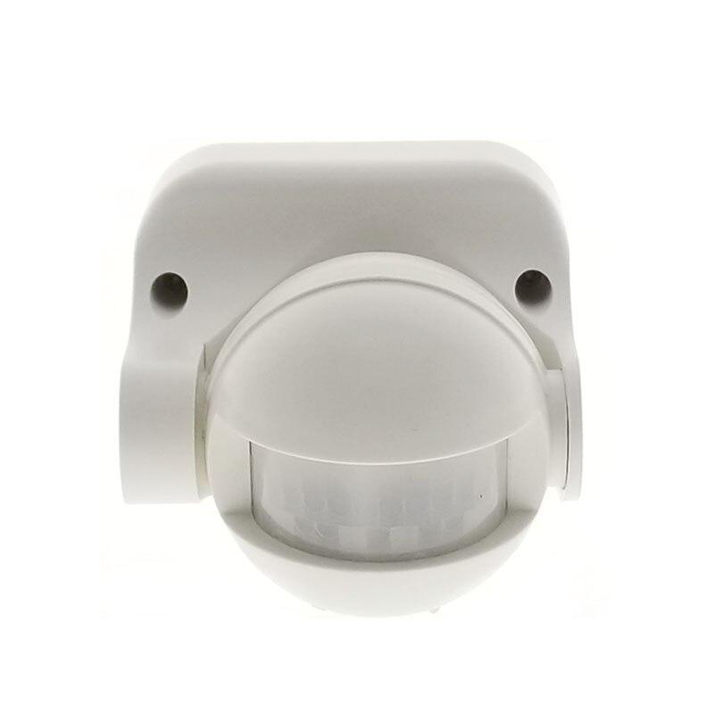 Excelente 110 V ~ 220 V 50/60Hz 180 grado al aire libre IP44 seguridad PIR Sensor de movimiento por infrarrojos interruptor Detector de movimiento
