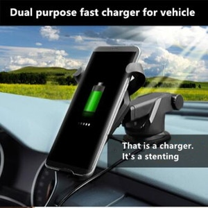 NEW car-styling car Qi Wireless Charger Car Holder Stand For saab key 9-3 9-5 emblem 93 evening dress 95 900 9000 accessories