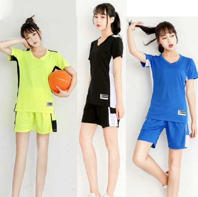 Niestandardowa koszulka do koszykówki! Damska koszulka do koszykówki spodenki sportowe, koszulka do koszykówki z krótkim rękawem uniforme, odzież do koszykówki dla kobiet