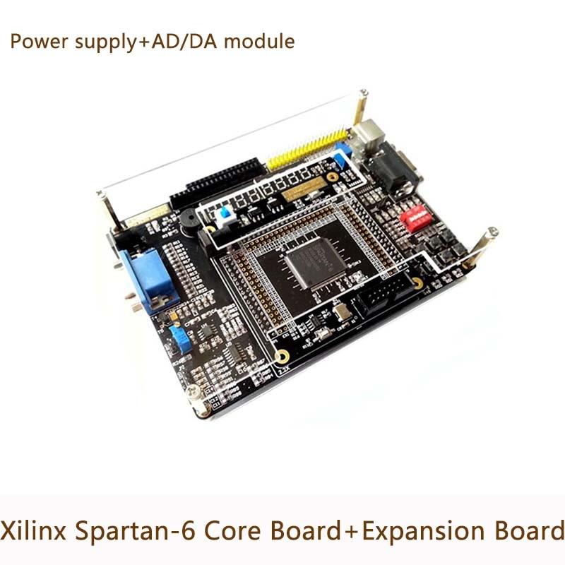 Xilinx FPGA Spartan 6 XC6SLX9 макетная плата основная + периферийная Плата