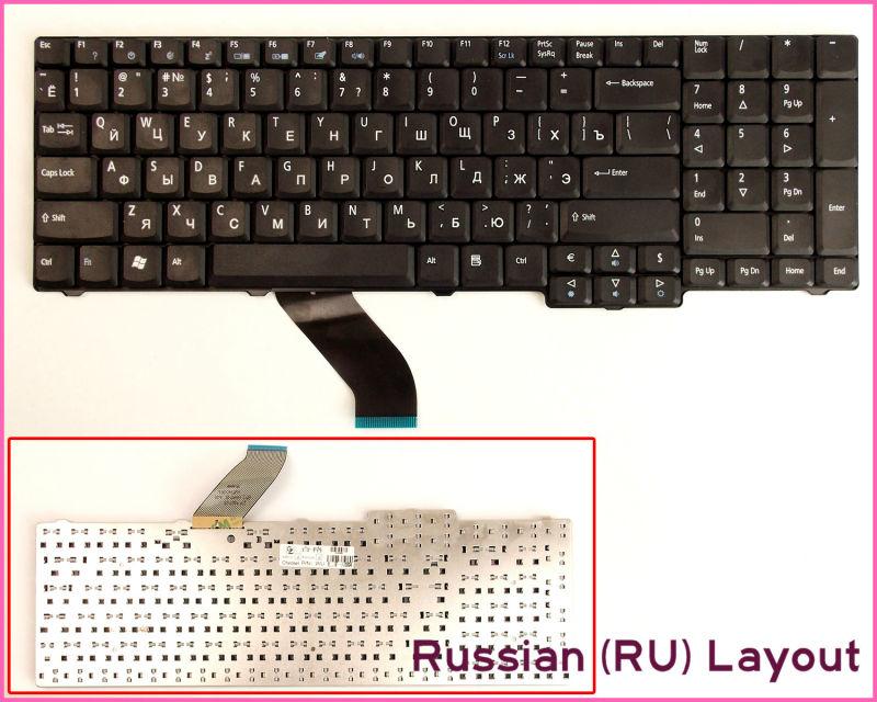 Nuevo teclado versión rusa RU para Acer Aspire 5737 5737Z 5737G 5737ZG...