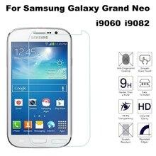 9H HD verre trempé pour Samsung Galaxy Grand Duos i9082 i9080 GT-i9082 Neo i9060 i9062 Plus i9060i étui de protection décran