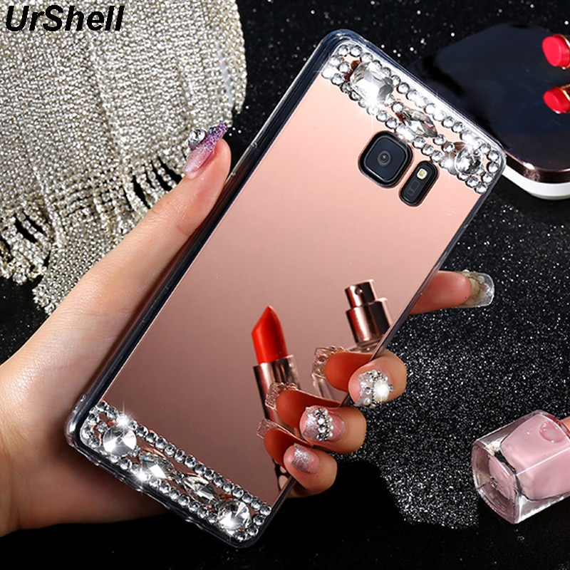 Phone Case For Samsung S20 Ultra S10 S9 S8 Plus S10E Note 10 9 8 A3 A5 A7 J3 J5 J7 2017 A7 J4 J6 A8 2018 Mirror Diamond Cases