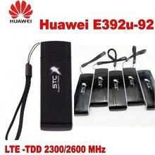 مقفلة هواوي E392 E392U-92 100 Mbps 4 جرام LTE مودم USB بيانات بطاقة يدعم تد