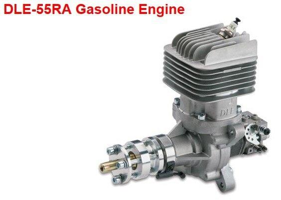 Motor Original de gasolina DLE55RA 55CC para Avión RC