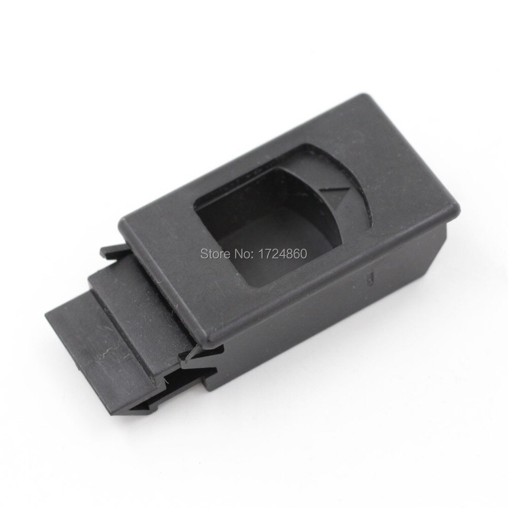 أفضل جودة مجلس الوزراء قفل 100 قطع البلاستيك الأسود غلق بمشبك مشبك المشبك LS725 لوحة أقفال