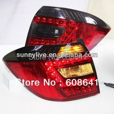 2008-2011 year Highlander LED Tail Lamp Red Black Color