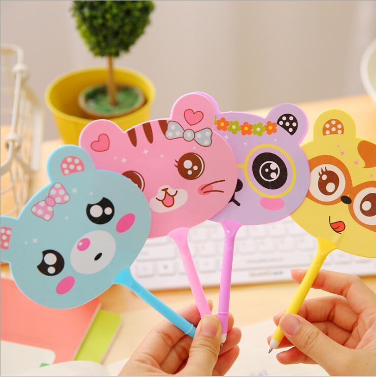 1 pieza de bolígrafos de bolígrafo de dibujos animados Kawaii creativos Multicolor Corea papelería suministros de oficina suministros divertidos