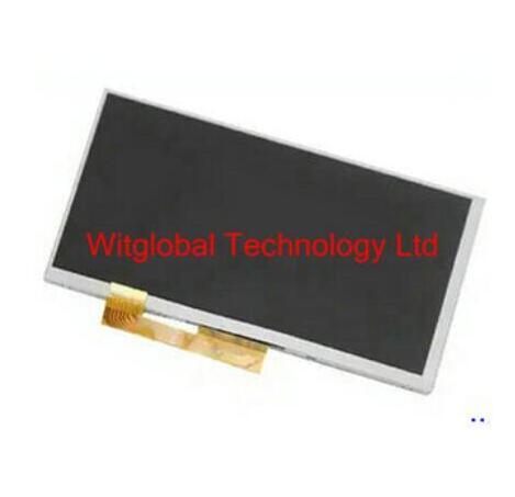 "Nova 7 ""Display LCD Matriz fpc0703007_b Para IGET fpc0703007_b S72 Tablet tela interna LCD Substituição Para IGET INTELIGENTE INTELIGENTE s72"