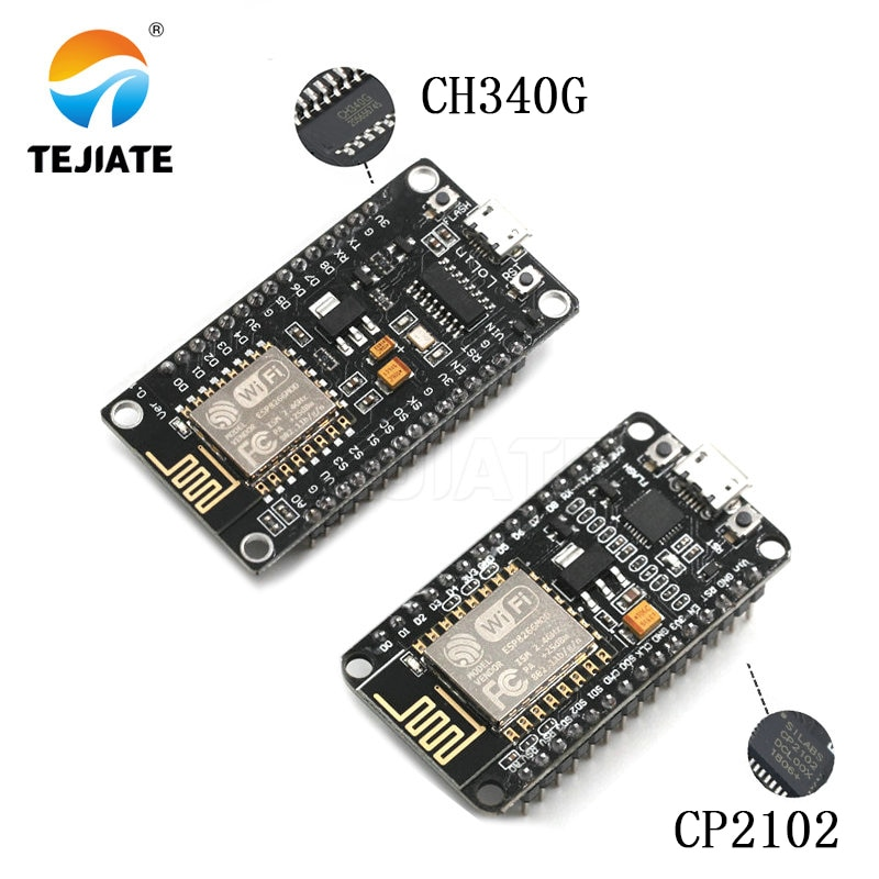 Wireless Module CH340 CP2102 NodeMcu V3 V2 Lua WIFI Internet of Things Development-Board Based ESP8266 ESP-12F With PCB Antenna недорого