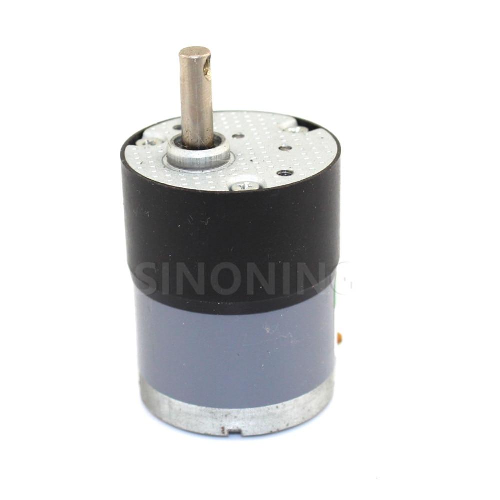 530 Motor de reducción micro Motor de reducción con agujero eje D tanque accesorios robot
