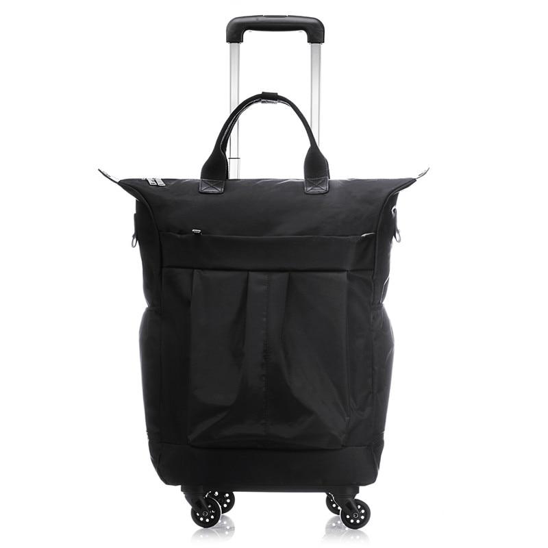 20 بوصة رجال الأعمال حقيبة الصعود صندوق الكمبيوتر حقيبة سفر ترولي المرأة المتداول حقائب الأمتعة رجل مقاوم للماء عجلات حقيبة يد