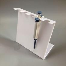 5mm haute qualité Z forme PMMA acrylique pipette rack 5 trous 6 trous simple type blanc et transparent livraison gratuite