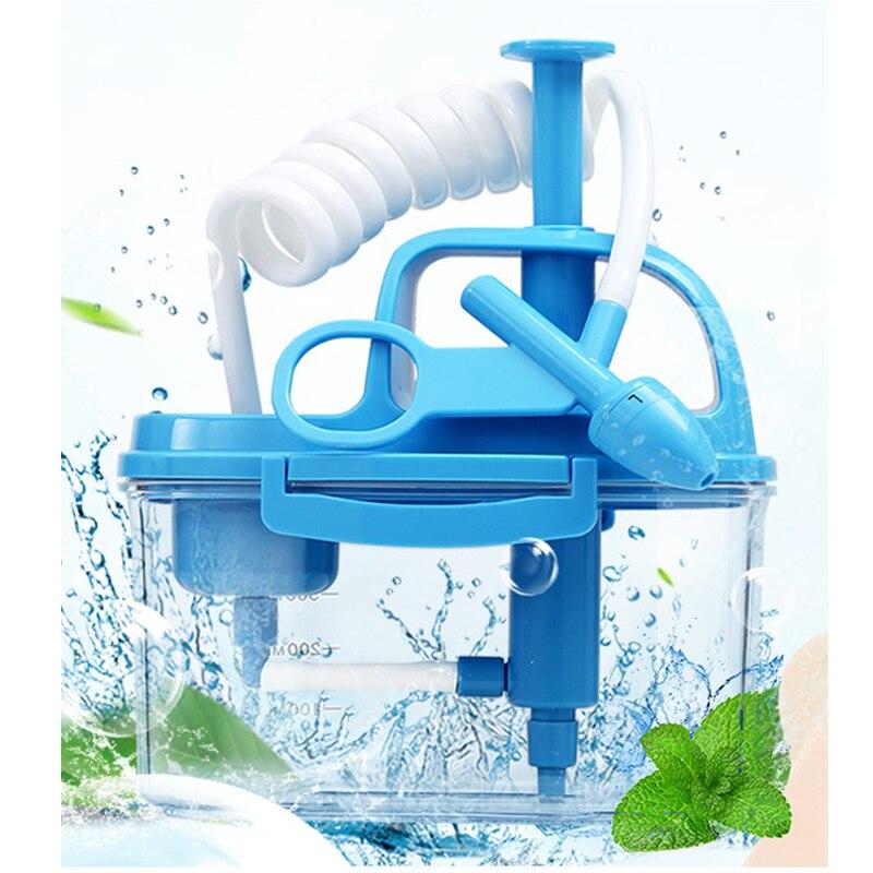 300 مللي الصحية الطبية دليل الأنف الري الأنف غسل الأنف المالحة الطفل الكبار الري غسل نظافة الرعاية تجنب للحساسية