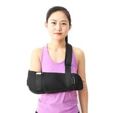 Medical Orthopedic Arm Sling Shoulder Immobilizer Rotator Cuff Wrist Elbow Forearm Support Brace Strap Lightweight