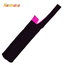 21 couleurs barres de gymnastique rythmique sac de rangement appareil sac RG Protection polyamide spandex tissu accessoires entraînement noir