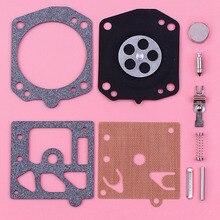 2pcs/lot Carburetor Repair Rebuild Diaphragm Kit For Husqvarna 365 362 371 372 Walbro K10-HD Chainsaw Replace Spare Part