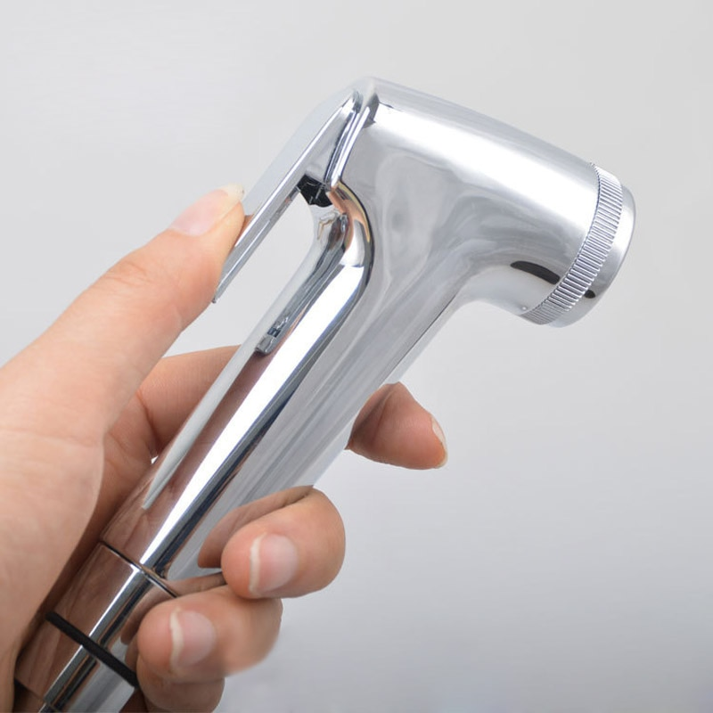 Abs handheld banheiro bidé pulverizador chuveiro cabeça de água bico spray sprinkler lks99