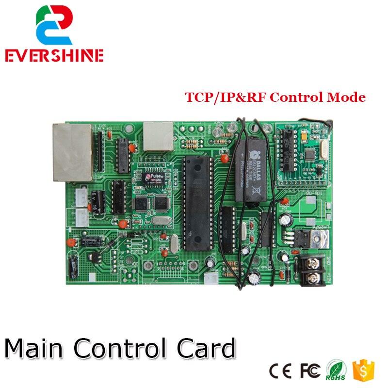 Uso principal da placa de controle do sinal do preço do óleo do gás do tcp 12 v para todo o número digital do diodo emissor de luz do tamanho para o posto de gasolina