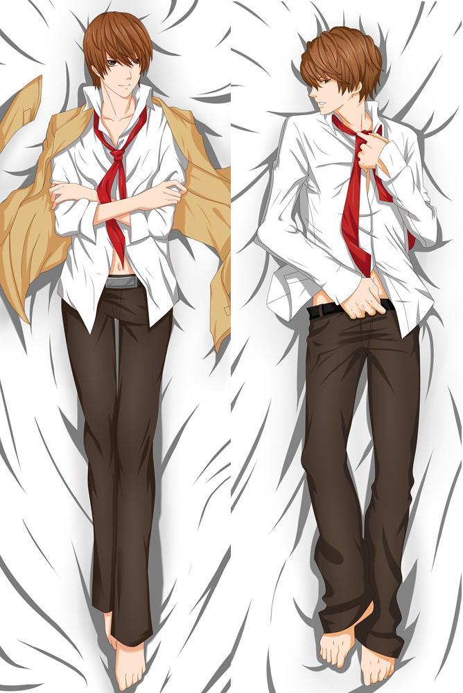 Funda de almohada de anime Death Note personaje L.Lawliet Desu Noto 78102
