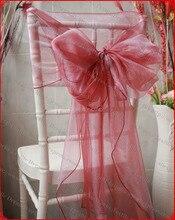 رقم 31 اللون الأورجانزا اغطية/كرسي أغطية/غطاء كرسي شاح ل حدث زفاف ومنزل و ولائم الديكور النسيج