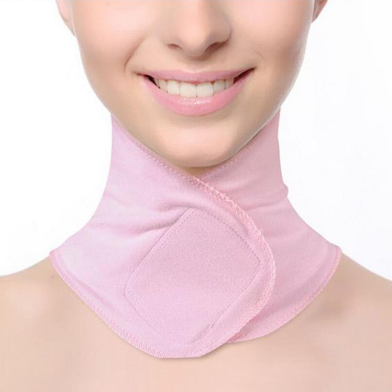 Dropshipping SPA Gel Hals Maske Anti Falten Hautpflege Feuchtigkeits Hals Membran Bleaching Reparatur Hals Membran