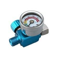Air regulator spuitpistool kit onderdelen air unit blauw manometer