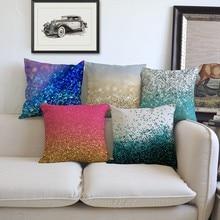 Pink Purple Stars Clouds Gradational Color Changing Fashion Trendy Sofa Throw Pillows Home Decor Modern European Cushion Covers