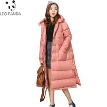 Plus Size Folk Style Retro Pankou Down Jackets Women Long Loose Casual Ladies Coat 2020 New Thicken Warm Female Parkas LXT705
