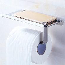 Bathroom Toilet Paper Holder Towel with Shelf Mobile Phone Toilet Roll Holder Tissue Holder Porta Papel Higienico Hot sale