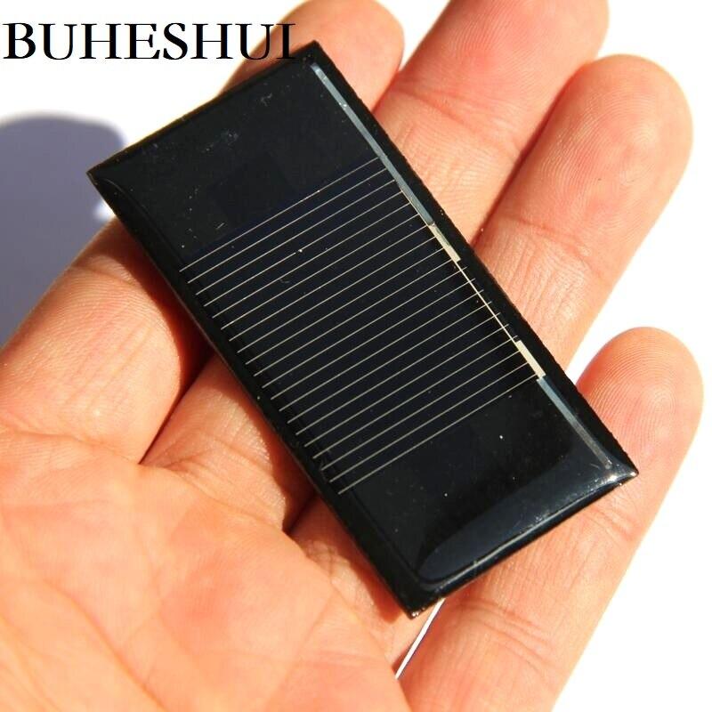 Acessórios para Ciência e Tecnologia Buheshui Mini Painel Solar Células Solares Brinquedo Educação 60*30mm Epóxi 20 Pcs 300ma 0.5 v
