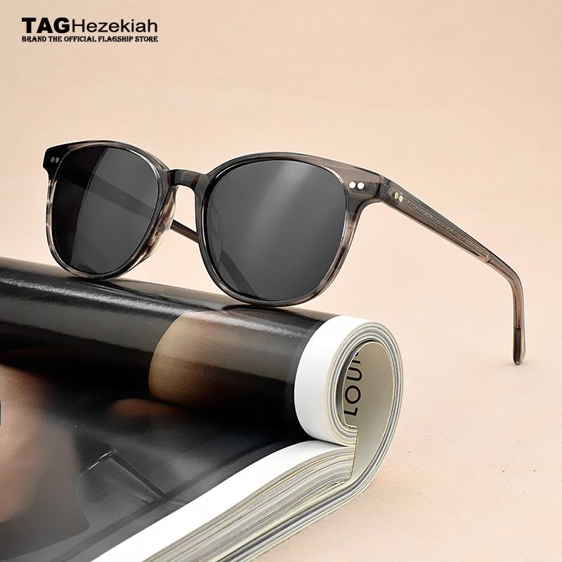 2019 جديد نظارات شمسية كلاسيكية النساء الاستقطاب النظارات الشمسية الرجال العلامة التجارية OV5277 مصمم موضة خمر نظارات شمسية القيادة الصيد UV400
