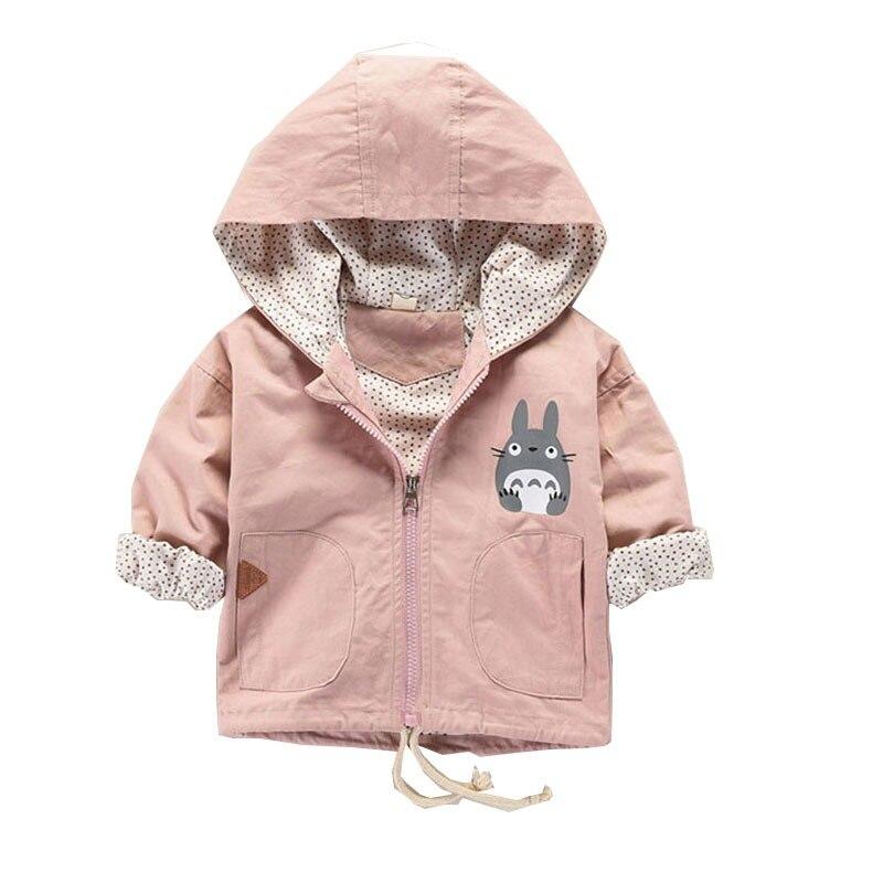 Girls Hoodies Cartoon My Neighbor Totoro Lovely Hoodies For Girls Full Sleeve Kids Coats Girls Sweatshirt Children Clothing