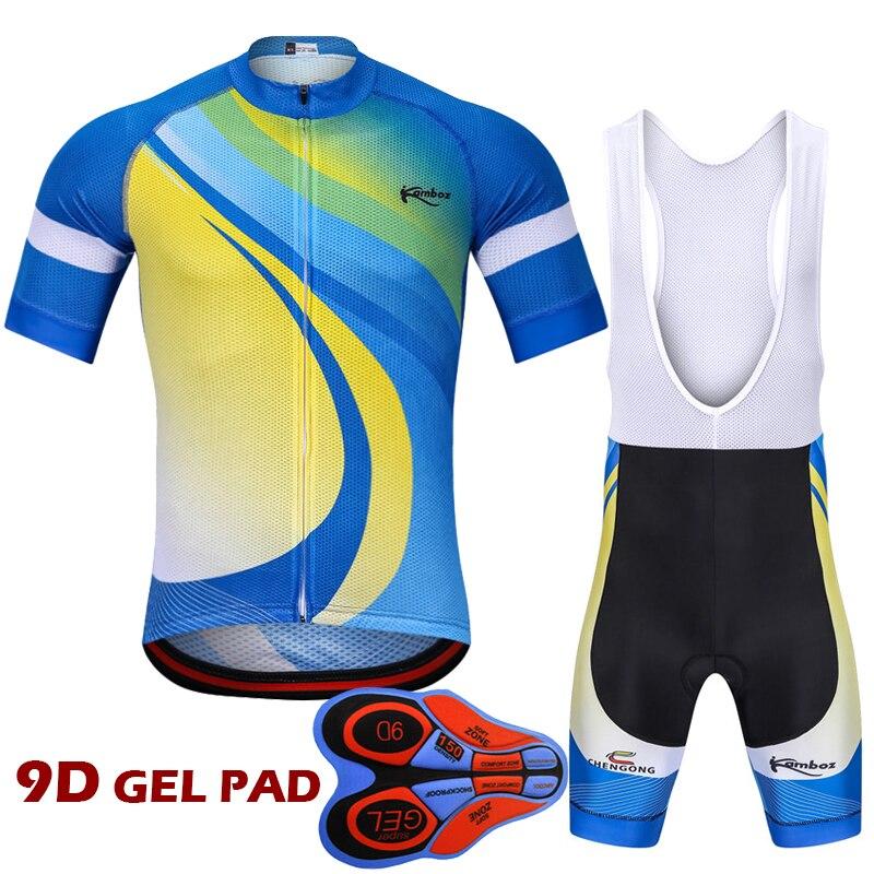 2018 nuevo diseño Ropa Ciclismo Pro conjunto de Ropa de Ciclismo manga corta Ciclismo Jersey traje Maillot bicicleta de carreras Ropa Jersey